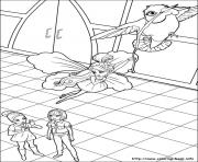 Print barbie thumbelina 29 coloring pages