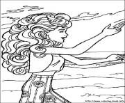 Printable barbie19 coloring pages