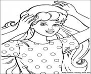 Printable barbie5 coloring pages