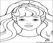Printable barbie8 coloring pages