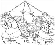 Print barbie musketeers 16 coloring pages