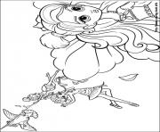 Print barbie thumbelina 15 coloring pages