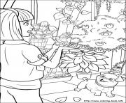 Print barbie thumbelina 28 coloring pages