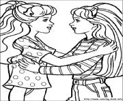 Printable barbie18 coloring pages