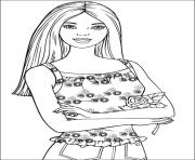 Printable barbie36 coloring pages