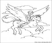Print barbie magic pegasus 08 coloring pages