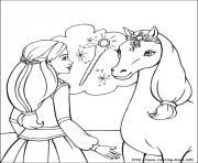 Print barbie magic pegasus 10 coloring pages