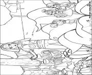 Printable barbie thumbelina 05 coloring pages