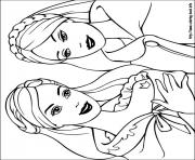 Print barbie princess 01 coloring pages