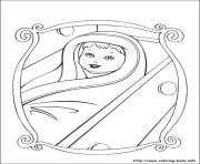 Printable barbie princess 03 coloring pages