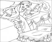 Print barbie princess 16 coloring pages