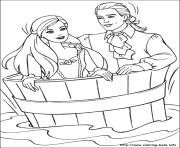 Printable barbie princess 20 coloring pages