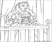 Printable barbie princess 06 coloring pages