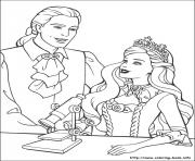 Print barbie princess 10 coloring pages
