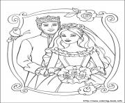 Printable barbie princess 25 coloring pages