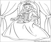 Print barbie princess 04 coloring pages