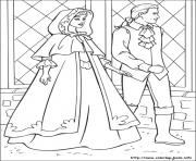 Printable barbie princess 11 coloring pages