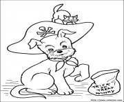 Print halloween_100 coloring pages