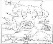 Print halloween_46 coloring pages