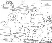 Print halloween_59 coloring pages