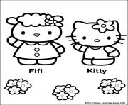 Printable hello kitty 27 coloring pages
