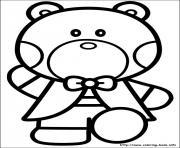 Printable hello kitty 48 coloring pages