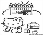 Printable hello kitty 03 coloring pages