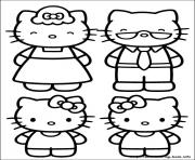 Printable hello kitty 22 coloring pages