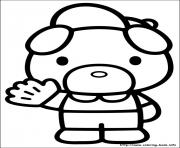 hello kitty 51 coloring pages