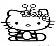 Printable hello kitty 52 coloring pages