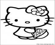 Print hello kitty 53 coloring pages
