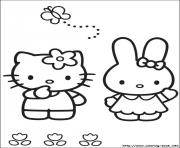 Printable hello kitty 06 coloring pages
