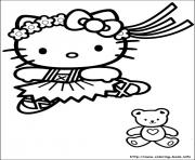 Printable hello kitty 16 coloring pages