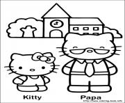 Printable hello kitty 19 coloring pages