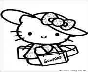 Printable hello kitty 26 coloring pages