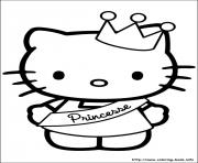 Printable hello kitty 35 coloring pages