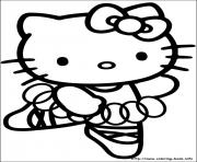 Printable hello kitty 40 coloring pages