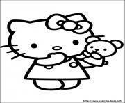 Print hello kitty 43 coloring pages