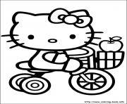 Printable hello kitty 54 coloring pages