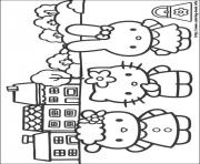 Print hello kitty 09 coloring pages