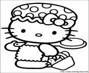 Printable hello kitty 13 coloring pages