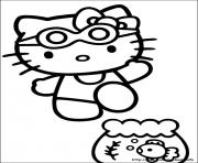 Printable hello kitty 21 coloring pages