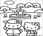 Printable hello kitty 28 coloring pages