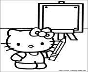 Print hello kitty 33 coloring pages