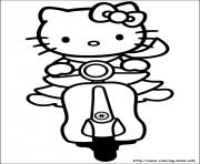 Printable hello kitty 42 coloring pages