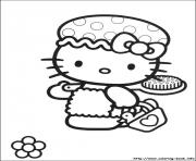 Printable hello kitty 02 coloring pages