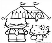 Print hello kitty 20 coloring pages