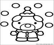 hello kitty 44 coloring pages