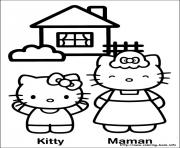Printable hello kitty 17 coloring pages