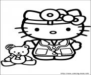Printable hello kitty 38 coloring pages